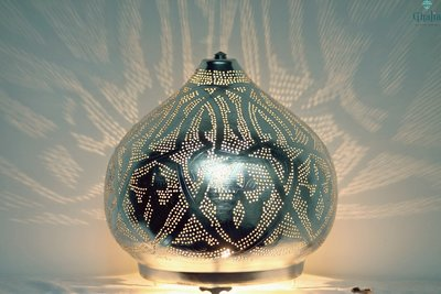 Egyptian filigree lamp magdy xl ghalia oriental enlightenment egyptian moroccan and - Oosterse lamp ...